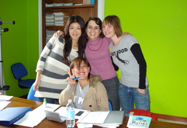 italian language school course